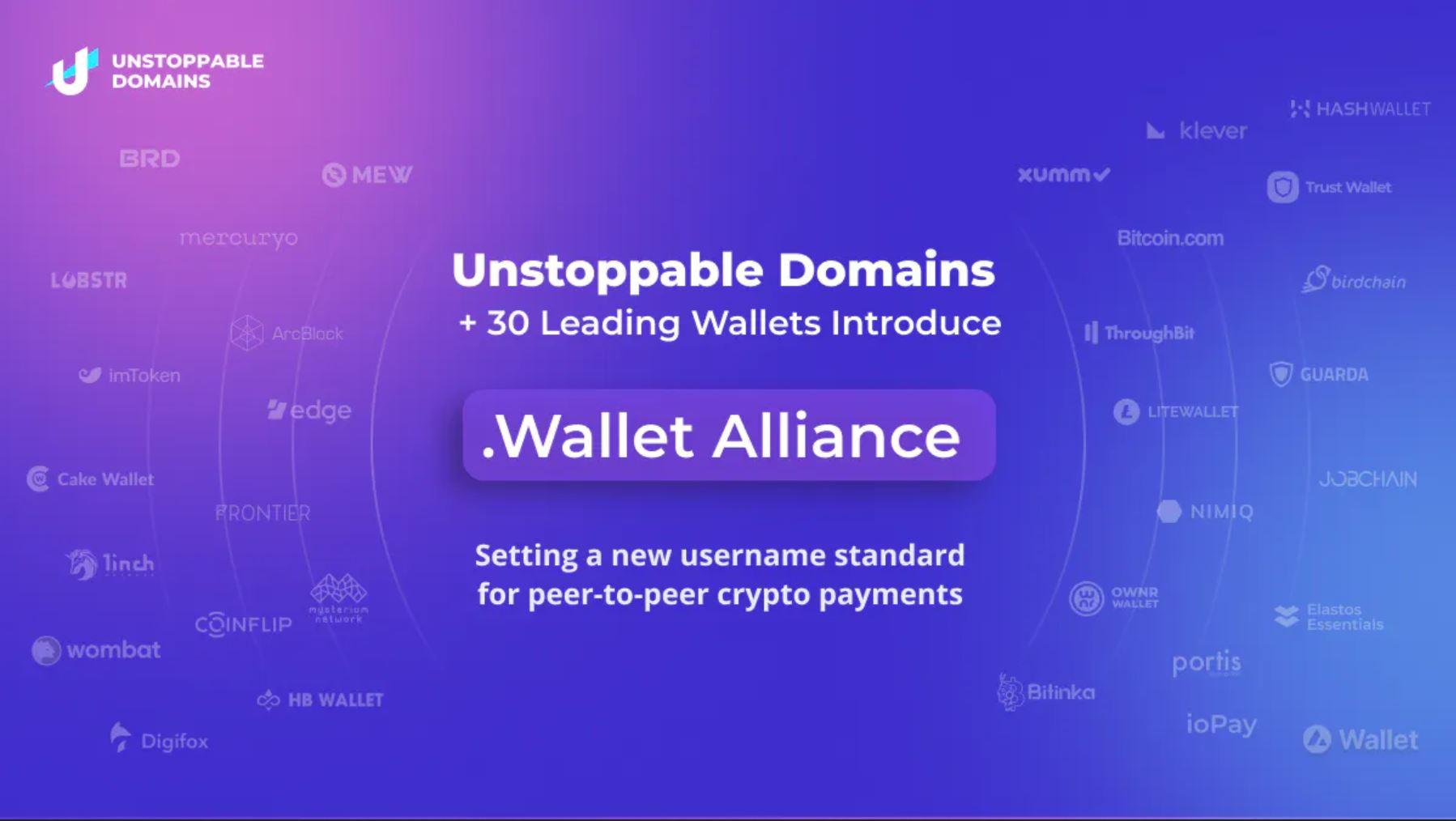 Esittelyssä .Wallet Alliance