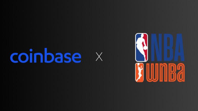 Coinbase solmii sponsorisopimuksen NBA:n ja WNBA:n kanssa