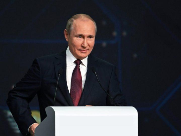 Vladimir Putin kommentoi kryptovaluuttoja